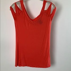 Wet Seal Orange Top Jr Size Medium